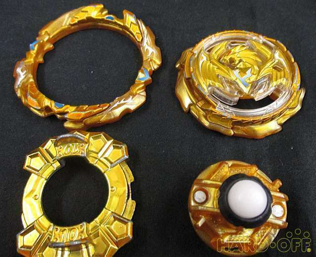 Takara Tomy Beyblade Burst Limited Revive Phoenix Gold Tsubasa Ver. Action image 3