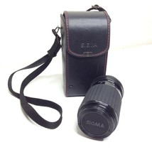 Sigma 80-200mm Zoom Lens 4.5-5.6 with Case Macro 1:3.7 For Minolta - $28.01
