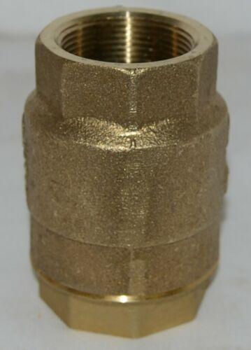 Watts LF600  Bronze Silent Check Valve 1 1/2 Inch 0555179