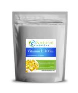 120 Vitamin E 400iu Capsules - High Quality SoftGel Capsule - UK Diet Supplement - $10.94