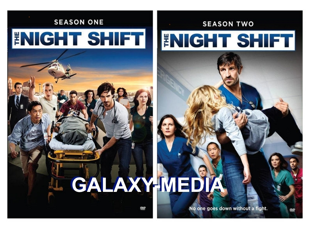 Night shift season 1 2 dvd