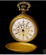 Mens wind up Pocketwatch - Grandfather gift - hunter Westclox accessory ... - $75.00