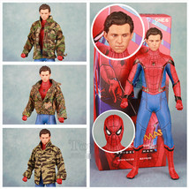 "Crazy Toys 2018 Marvel 12"" Spidermam Tom Holland Action Figure 29cm Statue  - $87.99"