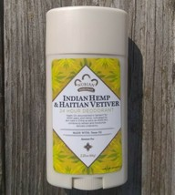 Indian Hemp & Haitian Vetiver Deodorant w/ Neem Oil Nubian Heritage No A... - $7.79