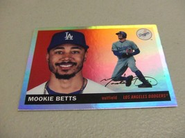 2020 Topps Archives #27 Foil SP Parallel Mookie Betts -Los Angeles Dodgers- - $14.84