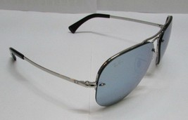 Ray-Ban Sunglasses 3449 003/30 59 Aviator Silver Mirror Unisex NEW 100% ... - $104.49