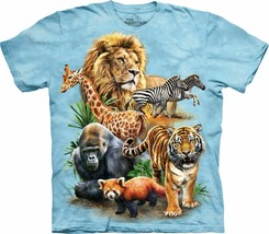 The Mountain  Adult Mens Graphic T shirt Unisex  ZooCollage - £15.81 GBP