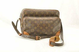 LOUIS VUITTON Monogram Nile Shoulder Bag M45244 LV Auth ti040 **Sticky - $330.00