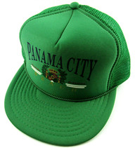 Vintage Panama City Beach Florida Snapback Trucker Cap Hat Mesh Back - €27,72 EUR