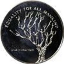 1971 United Nations Equality For All Mankind Proof Sterling Silver (.81 ... - $35.00
