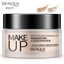 BIOAOUA Moisturizing Concealer Foundation Trim Oil Cream Natural Nude Ma... - $7.59+
