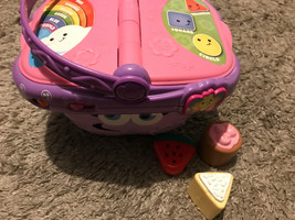 Leap Frog Leapfrog Pink Picnic Basket With Sounds Educational Toy (not Complete) - $12.05