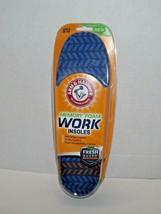 Pair of Arm & Hammer Memory Foam Work Insoles Men's 8-13 New (w) - $15.83