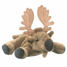 "Wildlife Artists Moose Plush Finger Puppet Toy, 7"" Moose Play Critters... - $8.67"