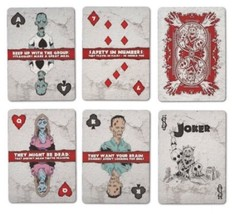 Bicycle ZOMBIE Playing Cards SEALED Deck - Contain 52 Zombie Surviving T... - $7.94