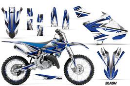 Decal Graphic Kit Wrap + Number Plates For Yamaha YZ125 YZ250 2015-2018 SLASH U - $249.95