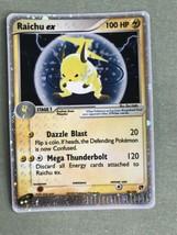RAICHU EX 98/100 Ultra Rare Star Holo Foil Pokemon Card Ex-Sandstorm - $25.00