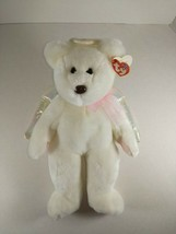Ty Beanie Buddy Halo the Angel Bear Plush Stuffed Animal 1999 MWMT - $9.99