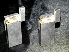 Flint Eaton Decatur Rectangle Lighters AA19-1676 Vintage Two image 2
