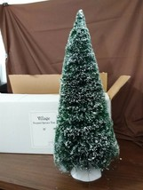 "Dept 56 General Village Accessory Frosted Spruce Tree Large 22"" 52329 - $22.00"