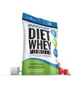 EvoSport Diet Whey Protein with CLA, Acai Berry & Green Tea 1kg Raspberry - $25.99