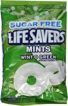 Life Savers Sugar Free Hard Candy, Wint-O-Green-2.75 oz, 3 Pack - $11.87