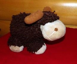 "Plush Huggable 10"" MOP STARS Brown & Tan MOOSE Needs a Camping PlayMate - $6.89"