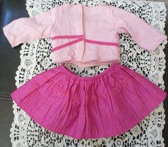 American Girl 2006 Sweet Sequins Party Outfit Crinkle Skirt & Top Set - $19.79