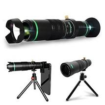 Ampufi - Monocular Telescope High Power - 22X Telephoto Lens with Smartp... - $35.50