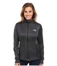 THE NORTH FACE Jacket Agave Buttery Soft Fleece Zip Winter Coat Black He... - $56.07