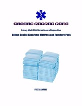 """200-23x24"""" Incontinence Pads by Medline® Extra Absorbent 4-Ply Leak Resi... - $37.95"""