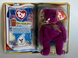 TY Teenie Beanie Babies MILLENNIUM the Bear New in Package McDonald's Retired   - $189.05
