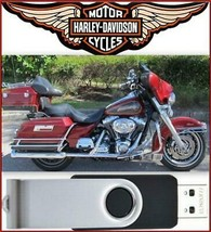 2007 Harley-Davidson Touring FLT Service Repair & Electrical Manual USB Drive - $18.00