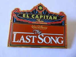 Disney Trading Pins 80529 DSF - El Capitan Marquee - The Last Song - $42.08