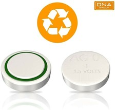 AG0, Coin Battery, Button Cell, 1.5 Volt, Generic image 1