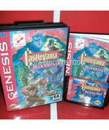 Castlevania Bloodlines NTSC-U with Box and Manual for 16 bit Sega MD gam... - $24.78