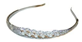 Wedding Hair Accessories, Rhinestone Headband, Bride Jewelry, Women's Ac... - $19.99