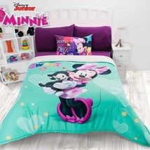 Minnie Mouse Girls Disney Original Licensed Comforter With Sherpa 1 Pcs Full - $128.70
