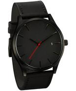 IEason,Popular Low-key Minimalist Connotation Leather Men's Quartz Wrist... - $13.78