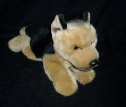 GANZ WEBKINZ SIGNATURE GERMAN SHEPHERD PUPPY DOG GOLD STUFFED ANIMAL TOY... - $102.15