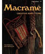 Macrame: Creative Knot-Tying - Vintage macrame book - Digital download i... - $5.00