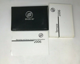 2006 Buick Terraza Owners Manual Handbook Set with Case OEM Z0A699 - $28.79
