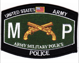 "4.5"" Army Mos 3521 Military Police Embroidered Patch - $16.24"