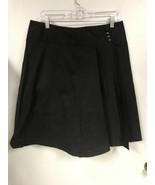 Anthropologie Elvenses Womens 12 Black Wrap Skirt  - $29.69