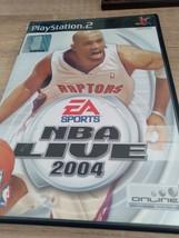 Sony PS2 Nba Live 2004 - $5.00