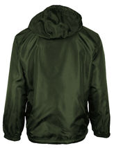 LAX Men's Premium Water Resistant Security Reversible Jacket With Removable Hood image 14