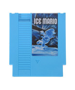 New Ice Mario SMB1 Hack 72 Pin 8 Bit Game Card Cartridge for NES Nintend... - $30.00