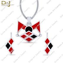 Queen Of Criminal Empire Harley Quinn Inspired Pendant Earrings Set Gift... - $132.93+