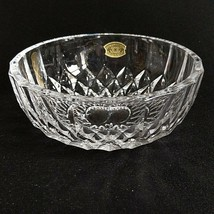 "1 (One) VAL ST LAMBERT IMPERIAL Cut Crystal 5"" Bowl D/C-Signed W Paper Tag - $18.04"