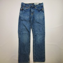 YOUTH POLO BY RALPH LAUREN STRAIGHT LEG JEANS SIZE 24 X 26 - $18.99